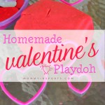 Homemade Valentine's Playdough