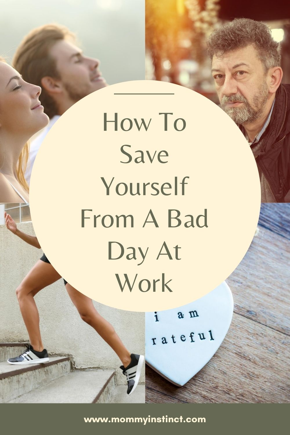 How To Save Yourself From A Bad Day At Work