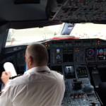 Kijkje nemen in de cockpit