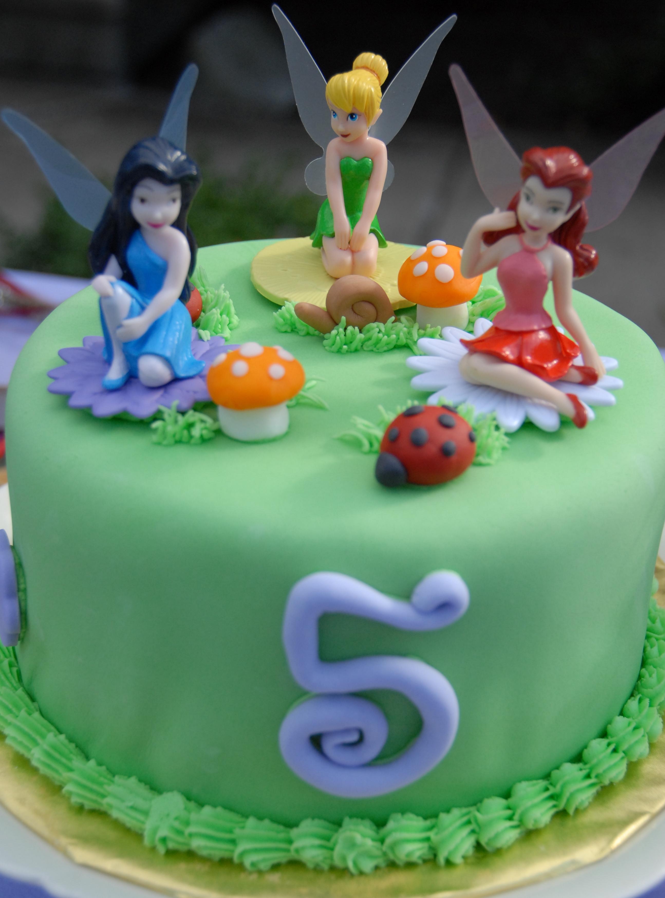 Easy Tinkerbell Cake Ideas