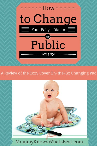change your baby's diaper in public, change a diaper