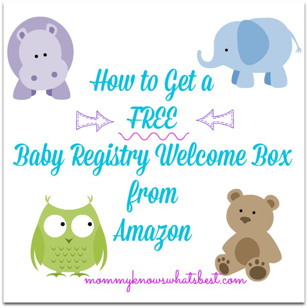 How to get a free baby registry welcome box