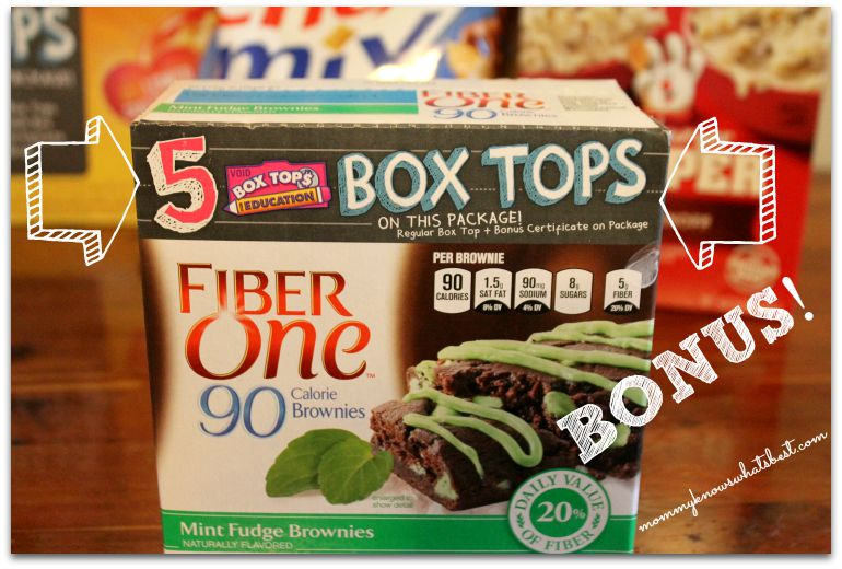 Bonus Box Tops for Education