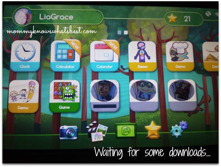 LeapPad Platinum Downloads
