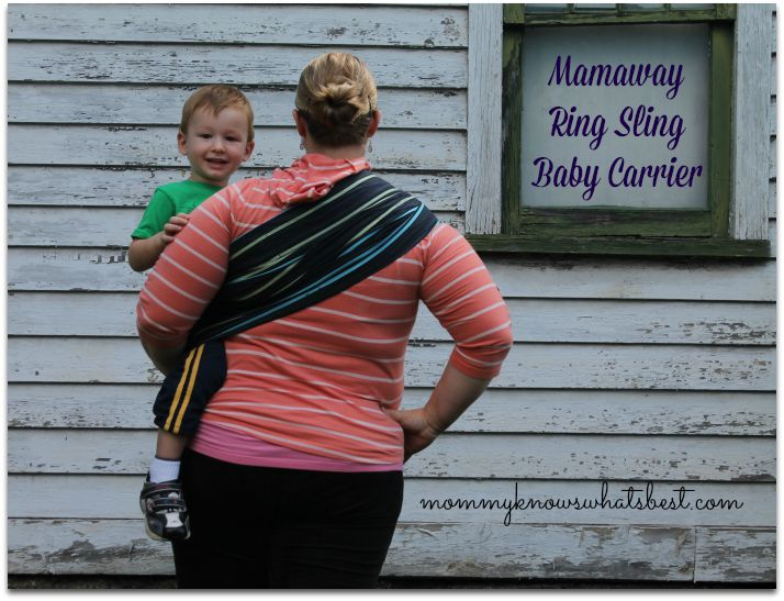 comfortable baby ring sling carrier review