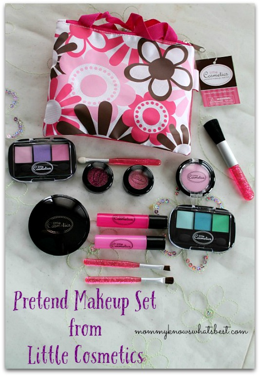 Pretend Makeup Set From Little Cosmetics Review