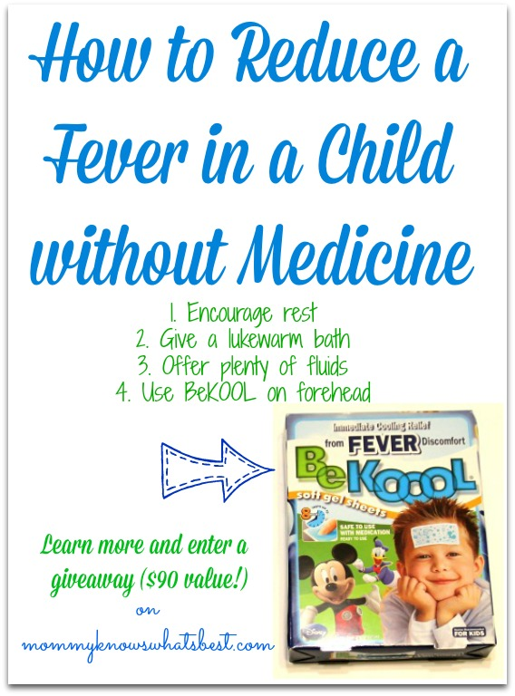 How to Reduce a Fever in a Child without Medicine