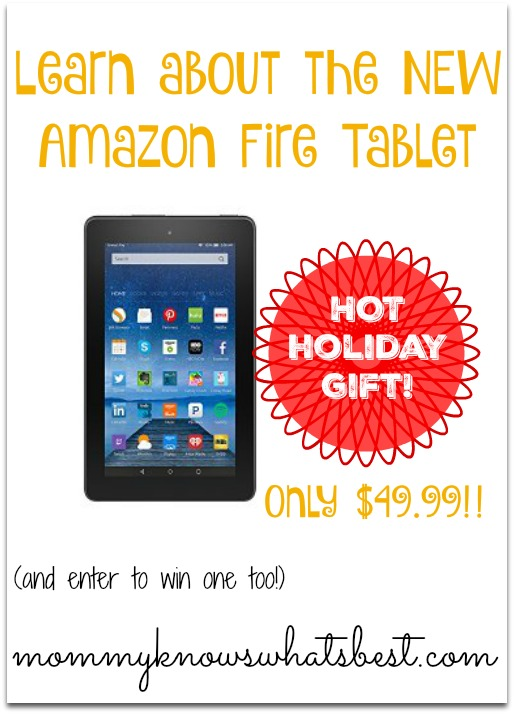 New Amazon Fire Tablet