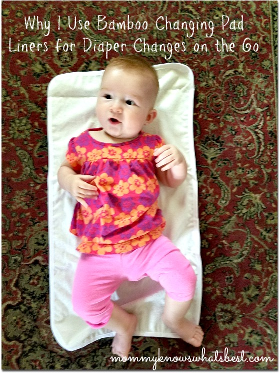 bamboo changing pad liners review