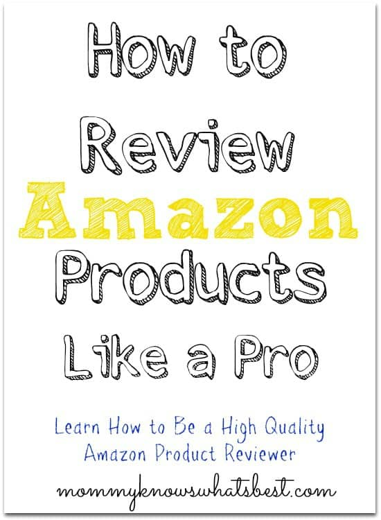 review amazon products