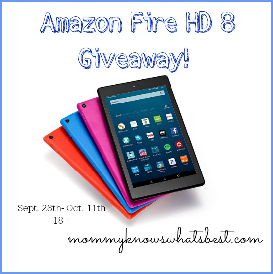 amazon fire hd 8 giveaway