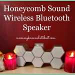 honeycomb sound wireless bluetooth speaker