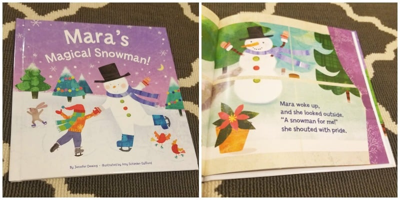 personalized christmas books for kids