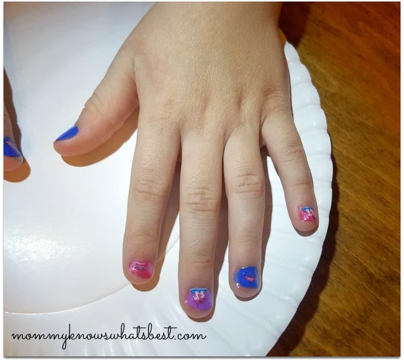 safe nail polish for kids