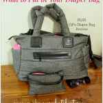 Checklist: What to Put in Your Diaper Bag, with CiPu Diaper Bag Review
