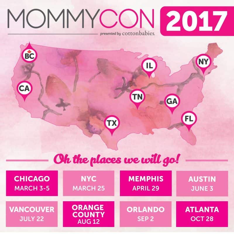 mommycon locations