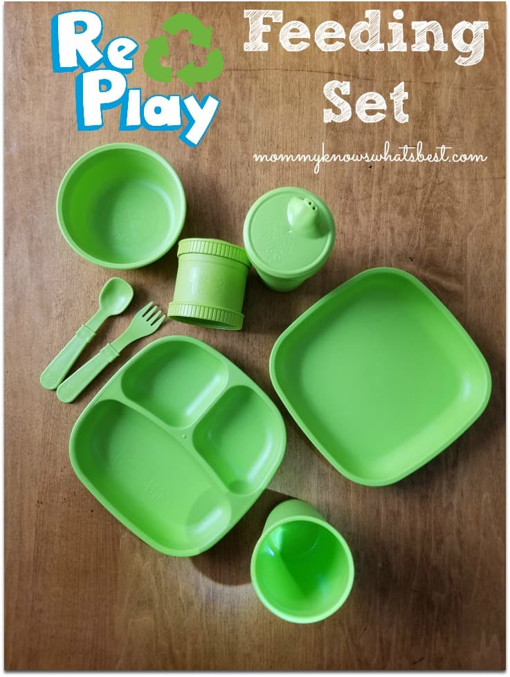 Re-Play review: Learn more about eco friendly plates, bowls, cups, silverware and more for kids!