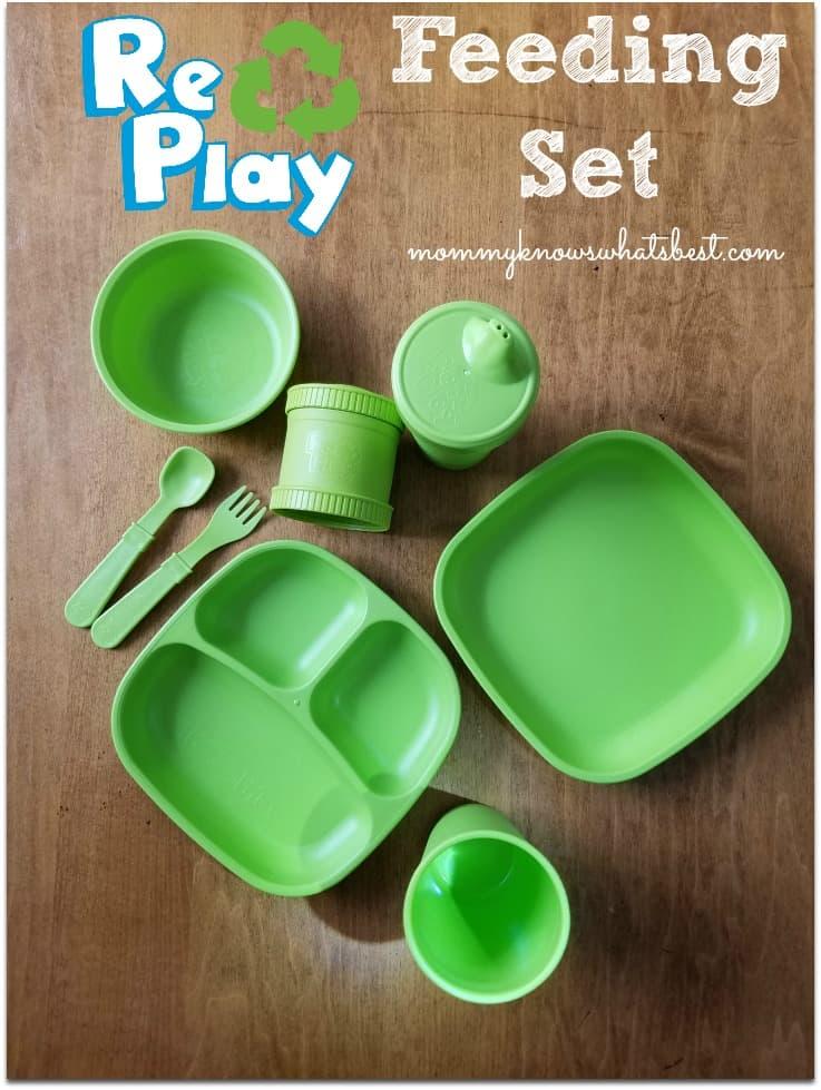 re-play toddler feeding set