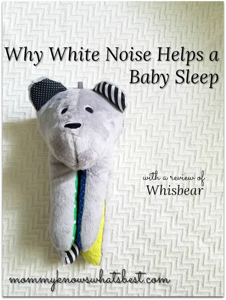 why white noise helps a baby sleep whisbear review