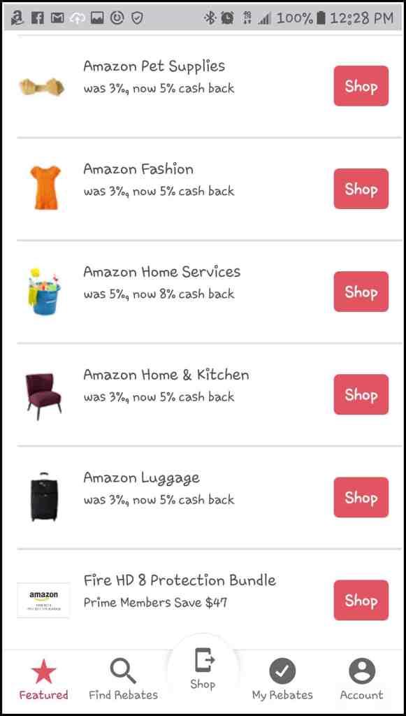 amazon rebates from ibotta