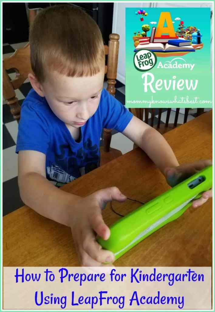 how to prepare for Kindergarten LeapFrog Academy