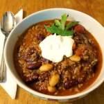 super easy beef chili recipe