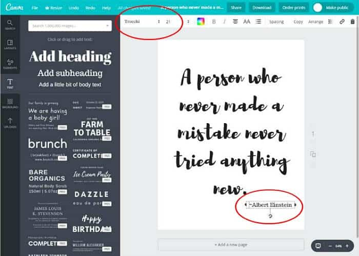 canva free printable tutorial 5