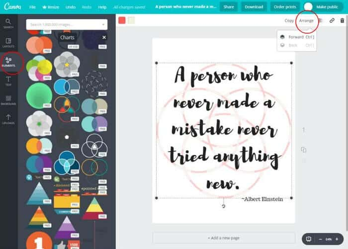 canva free printables tutorial 6