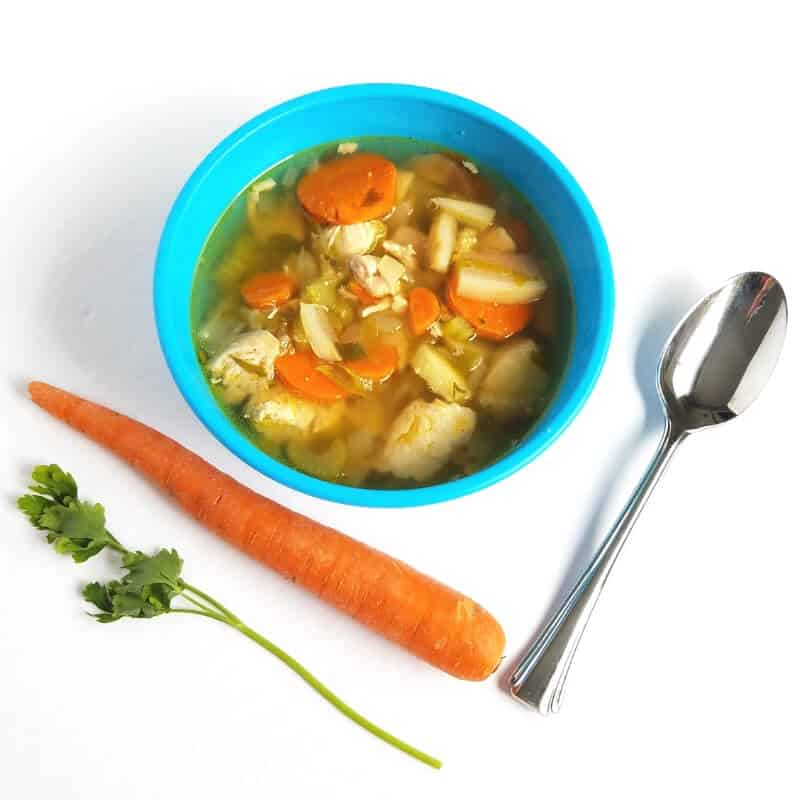 Healthy Chicken Soup Recipe Cold and Flu Season