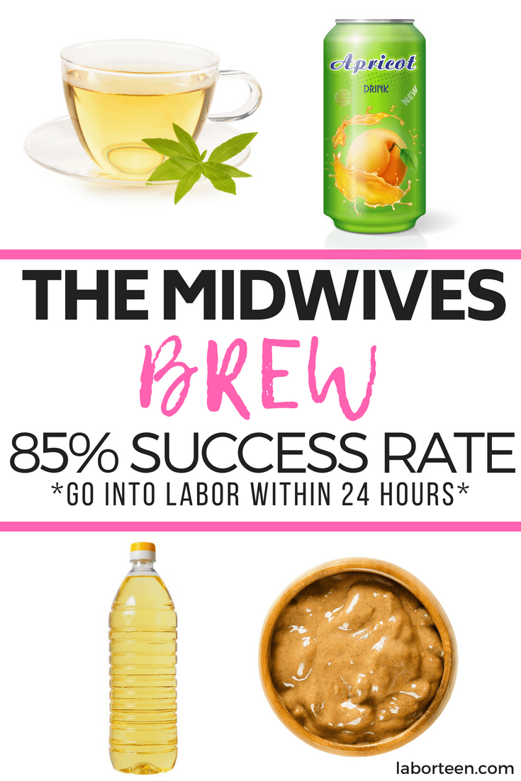 midwives brew, natural ways to induce labor, how to go into labor, best way to go into labor,