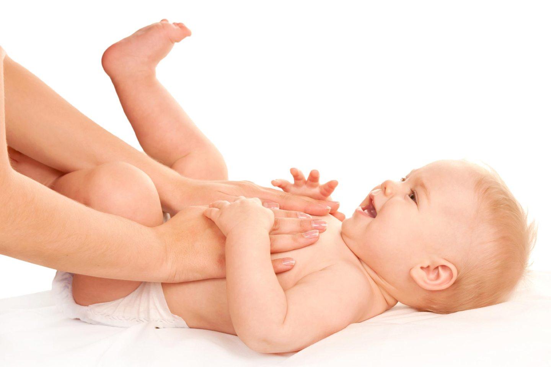 newborn getting a scheduled checkup