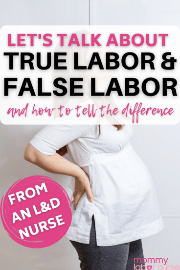 prodromal labor, The Facts About True Labor vs. Prodromal Labor (and how to tell the difference!)