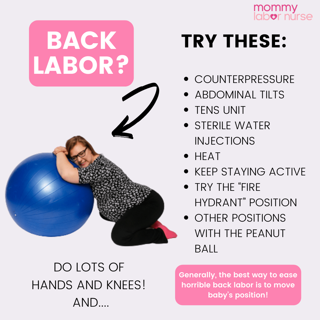back labor, What is Back Labor? Must-Know Tips for Every Mama
