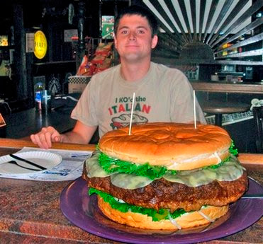 The monster burger of Clearfield
