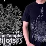 My husband's Tshirt design for DBH: Stone Temple Pilots Shirt Design Contest!