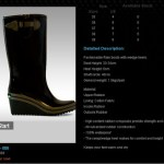 "I want a ""Hunter"" rain boots!"