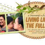 Living Life to the Fullest's new blog lay-out!
