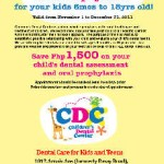 Get FREE comprehensive Dental Assessment and Oral Prophylaxis for your children