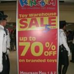 Toy Kingdom warehouse sale at Megatrade Hall Nov.4-6, 2011