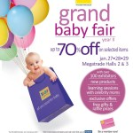 Get 70% discount on Baby Company's Grand Baby Fair