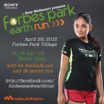 Run Green, Run Fun Join the Forbes Park Earth Run 2012