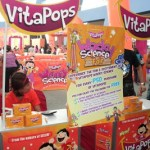 This mom had fun at the Vitapops Wacky Science Fair