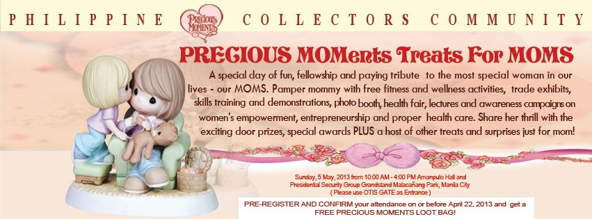Precious MOMents treats for Moms