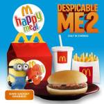 McDonald's Happy Meal: Despicable Me 2