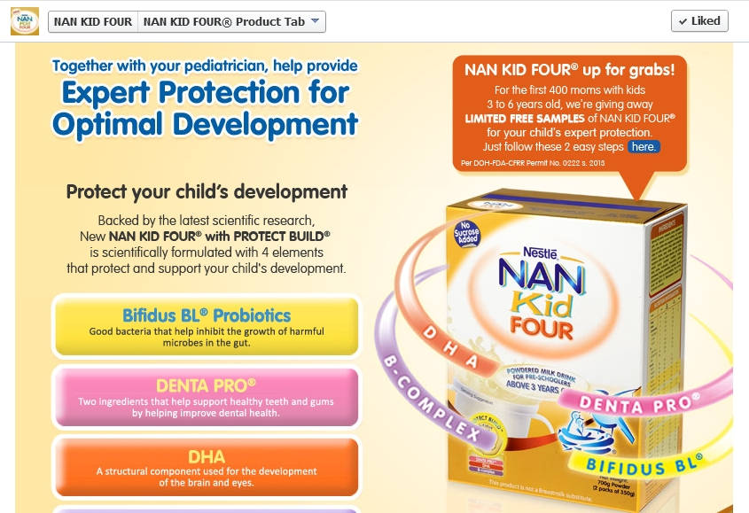 NAN Kid Four up for Grabs!