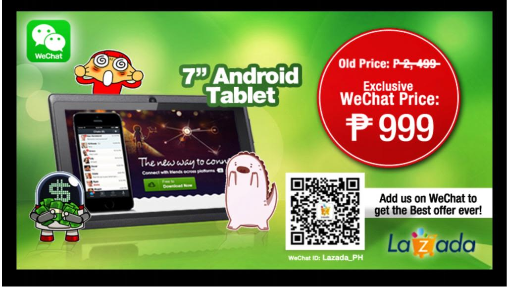 WOW!!! 7″ Android tablet for only Php 999