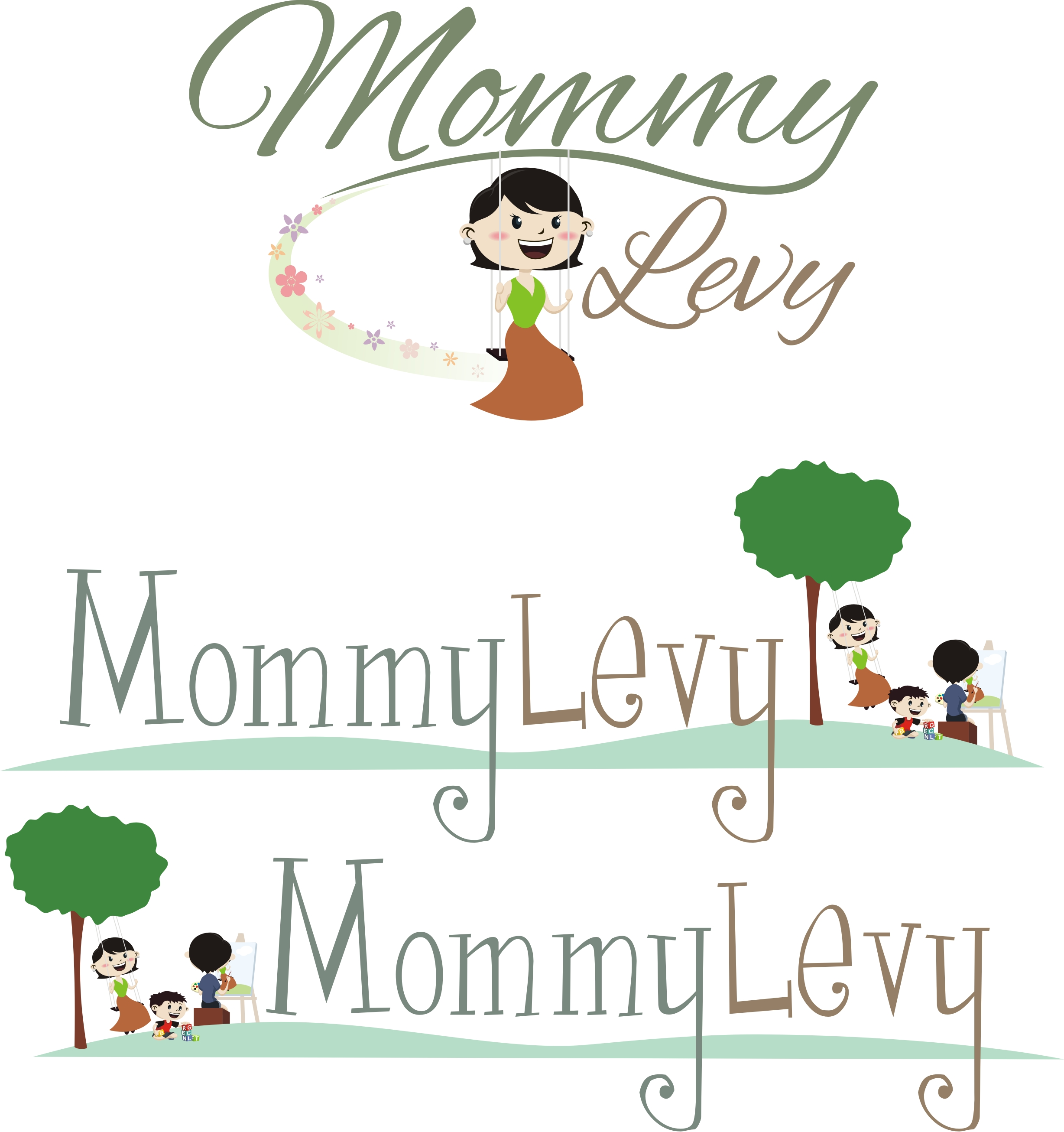 Mommy Levy's new blog design