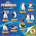 McDonald's Happy Meal: Penguins of Madagascar