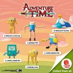 McDonald's Happy Meal: Adventure Time Toys 2015