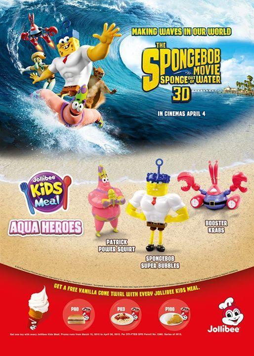 Nickelodeon Spongebob Toys from Jollibee Kids Meal